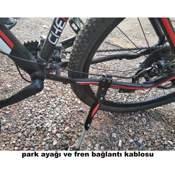 Cheroke 29 Jant 27 Vites Aliminyum Kadro Hidrolik Disk Fren Özel Seri Bisiklet Black-Green