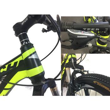 Cheroke 24 Jant 24 Vites Mountain Bike Özel Seri Bisiklet  Black-Red