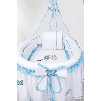 Pasha Baby Rüya Sepet Beşik Mavi