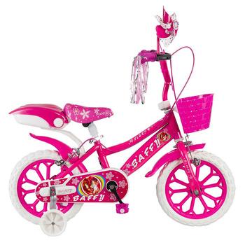 TNC Baffy Flex 15 Jant Çocuk Bisikleti (3-7 Yaş) AYNA-Zil Hediyeli Pembe