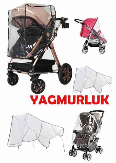 BABY ELF-Bebek arabası yağmurluğu (Tüm Tek Kişilik Bebek Arabaları için)