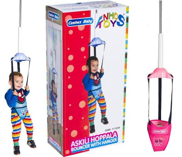 Enhoş Toys Askılı Hoppala Mavi