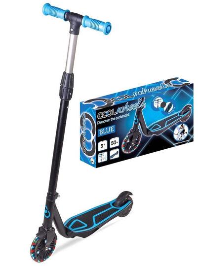 FRK Cool Wheels 5 + Yaş  Işıklı 2 Tekerlekli Scooter Blue