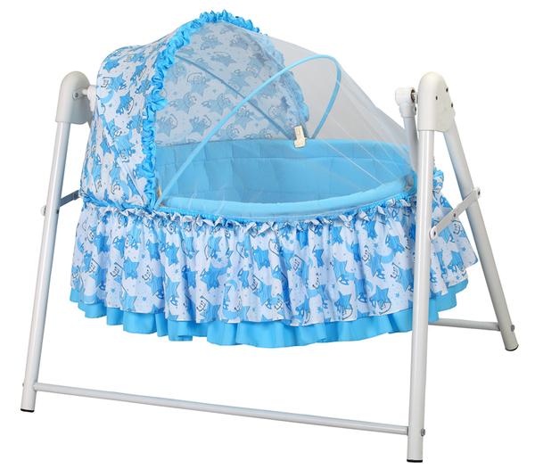 Pasha Baby Little Star Sepet Beşik Mavi