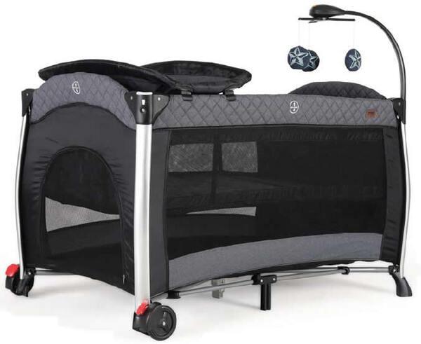 Prego Maxima Oyun Parkı Beşik 70 X 120 cm Gri